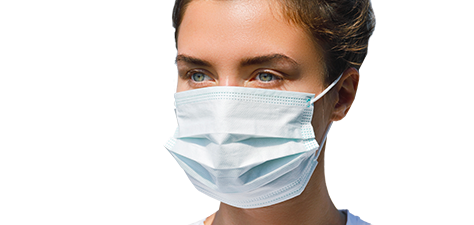 woman wearing face mask - dr magnusson